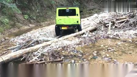 山地试驾全新吉姆尼越野车,只有在这些地方才能体现这车的性能视频
