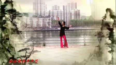 榕城舞魅广场舞《琵琶行》编舞申旭阔 中年人跳起来很好看