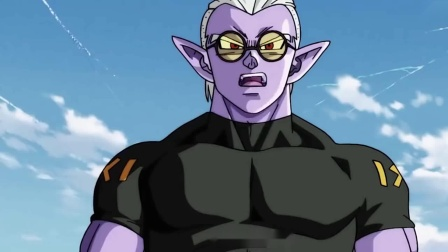 超龙珠英雄:红发神状态下的孙悟空出现了,堪巴有些小怕