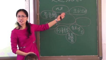 名师课堂小学综合实践《走进蔬菜》教学视频,周海青