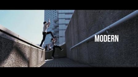 AE教程震撼大气户外运动作街舞模板背包炫酷甩手抖音嘻哈舞视频图片