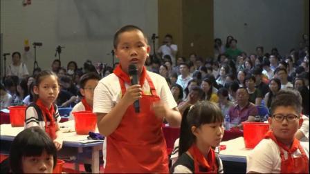 小学四年级美术《指墨彩画》教学视频,2018年中国教育学会第八届中小学美术课现场观摩培训活动