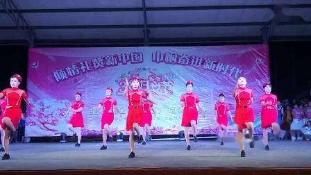 """皇桐镇""""三八""""妇女节广场舞大赛武维村舞蹈队"""