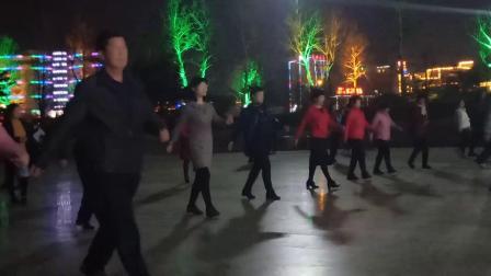 健身广场步子舞广场舞
