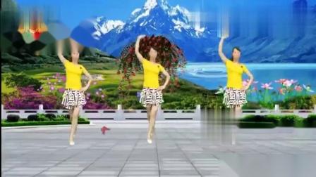 珍红广场舞??《甜蜜蜜编舞简画》