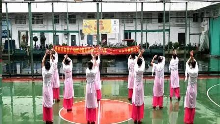 2019年广西梧州市如意健身舞协会举办庆祝三八妇女节广场舞蹈比赛