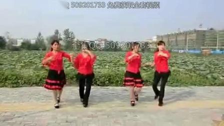 动动广场舞爱情恰恰双人舞对跳教广场舞