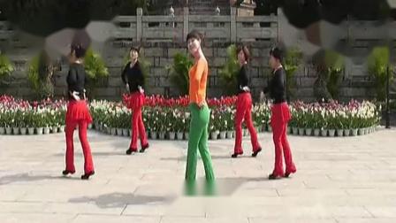 动动广场舞《幸福爱河》高清演示版