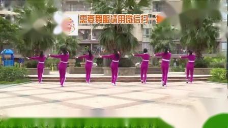 我在杨丽萍广场舞《忘不了的温柔16步》简单步子舞截取了一段小视