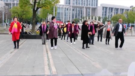 川姜镇双桥村广场舞 拉萨夜雨