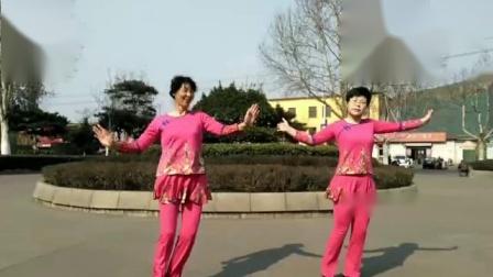 糖豆广场舞【桃花姑娘】新汶花园广场舞队
