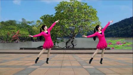 游城广场舞《美丽的遇见》原创抒情健身舞附教学