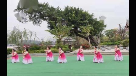 绿叶子广场舞《花仙子》编舞:格格老师。。