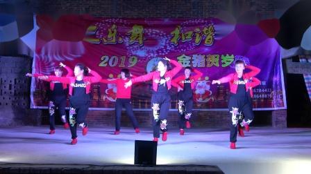 坡仔村金灿灿舞队《无奈的思绪》-贺2019年二月初十下垅墩广场舞
