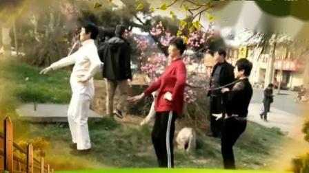 糖豆广场舞水兵舞【我们好好爱】新汶花园广场舞队