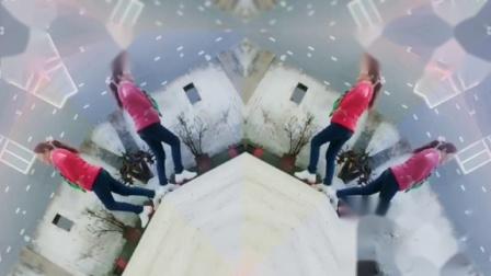 糖豆廣場舞((踢了他))劉華廣場舞制作視頻