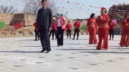 阳原县马圈堡乡岳家庄村第一届广场舞大联欢(十二)