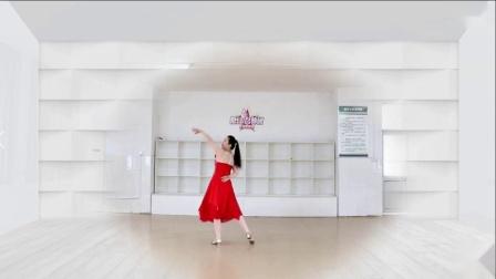 刘荣广场舞《我和我的祖国》背面分解动作