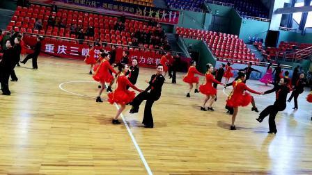 三步踩《康定情歌》永川洪燕水兵舞代表队表演