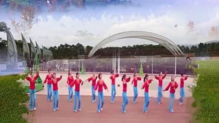兴平李红广场舞青春飞舞