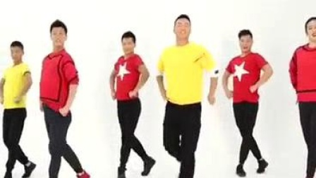 我在点赞新时代(王广成广场舞)截取了一段小视频