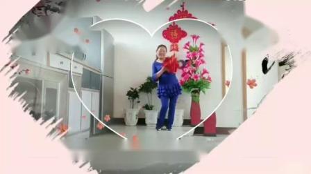 糖豆广场舞((荞麦花))表演刘华广场舞学跳
