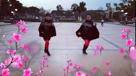 春天娟子广场舞     嗨曲(2019,3月26日制)