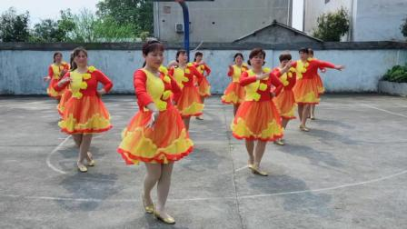 辉辉广场舞,万人迷