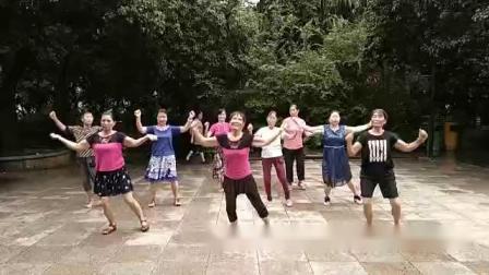 中康公园(孔老师舞蹈队)糖豆广场舞,祖国三杯酒