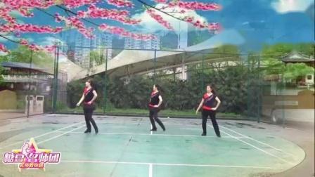 重庆叶子广场舞 太想念 背面