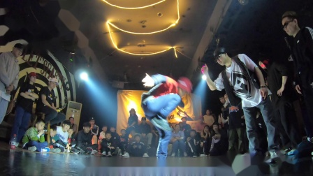 ROCKIN JAM VOL.4 BBOY FOOTWORK 7 TO SMOKE 小武(W)