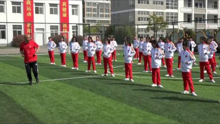 小学体育与健康三至四年级武术《上步搂手马步击掌》(小学体育与健康优秀课例教学实录视频)