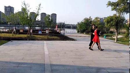 南陵华亿广场舞《梁祝》双人舞万家和大拇指通讯