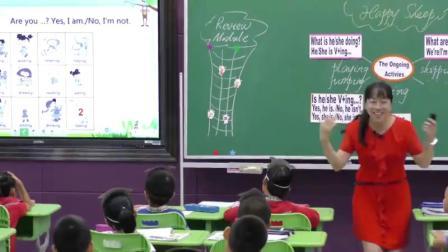 二年级英语下册《Review Module Unit1》复习课教学视频-外研社版教材