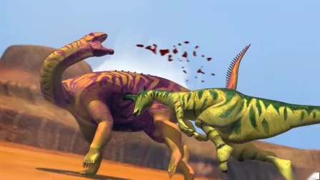 侏罗纪公园 恐龙 恐龙动画片 恐龙世界6