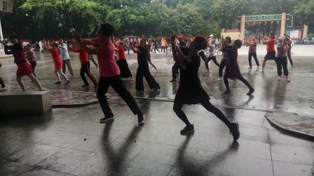 东莞大型广场舞李娟广场舞在人民公园上传徐同升