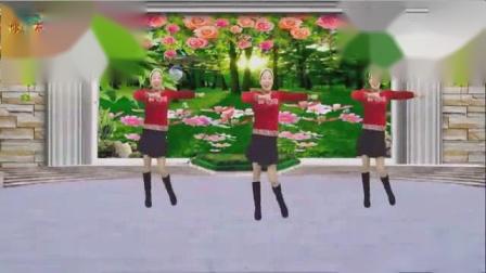 我在广场舞16步我在梦中想你广场舞小苹果合辑第1季截了一段小视