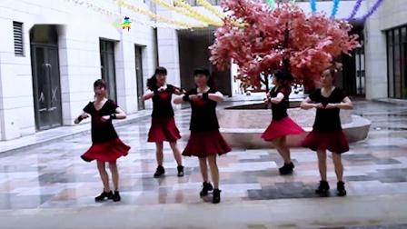 汉中紫月广场舞    舞动中国