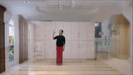 我在269 花与影原创广场舞《梦回云南》附教学截取了一段小视频