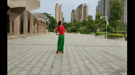 绿叶子广场舞《梦中的兰花花》   编舞:华玲老师