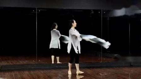 我在糖豆广场舞课堂 广场舞思慕 古典大扇舞 演示和分解动作教学