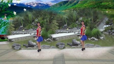 坪上广场舞《草原上美丽的姑娘》零基础32步原创附教学