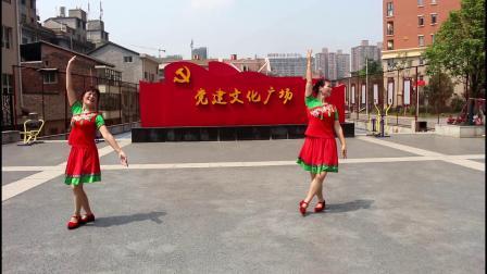 《老父亲》醴陵市烟花市场广场舞  表演者:合平  连心  摄制 李