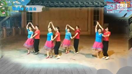 东玉(舞友)广场舞 双人舞(从些心里有你)编舞:蝶依
