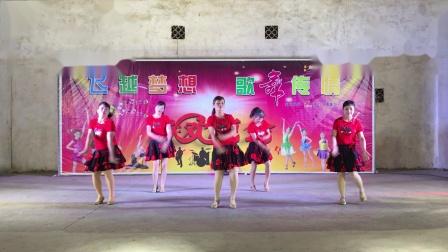 黄塘看合舞蹈队【桥头姐妹舞队广场舞联欢晚会2019.05.11】《马上