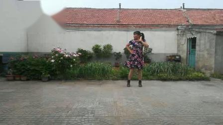野菜妹子广场舞--为爱疯狂--编舞广场舞