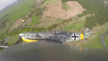 Bf-109战斗机由德国巴伐利亚飞机厂设计师梅塞施米特设计