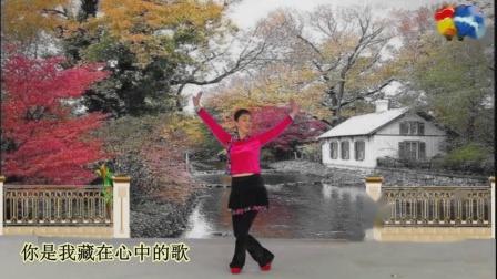 涓涓秋雨 视频广场舞 又见山里红