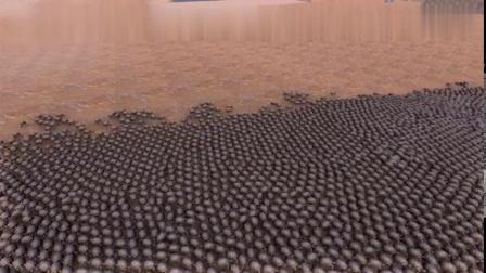 史诗战争模拟器-10个迪迦奥特曼vs10000个巨型乌龟,会如何