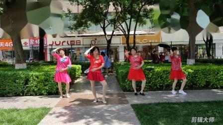 皮皮奶奶广场舞~190524快乐舞步健身操